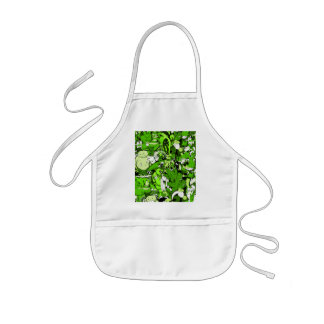 Cool Green Monsters and Zombies Kids' Apron