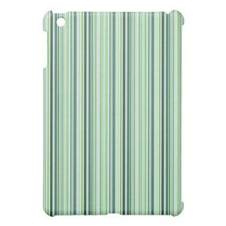 Cool Green Stripes iPad Mini Case