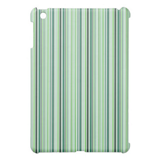 Cool Green Stripes iPad Mini Cases