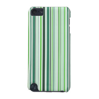 Cool Green Stripes iPod Touch 5G Case