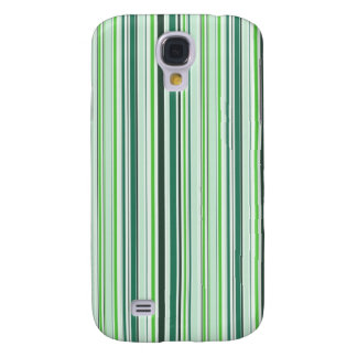 Cool Green Stripes Samsung Galaxy S4 Cover