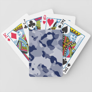 Cool Grey Camo; Camouflage Deck Of Cards