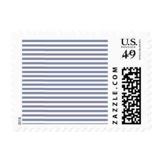 Cool Grey Horizontal Stripes; Striped Postage