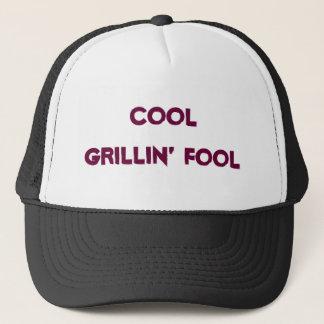Cool Grillin' Fool baseball cap