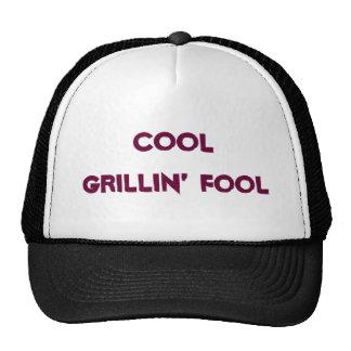 Cool Grillin' Fool baseball cap Trucker Hat