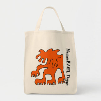 Cool Grocery Tote! Canvas Bag