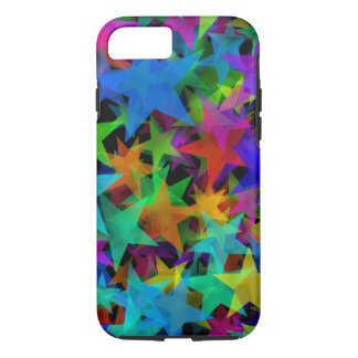 Cool Groovy Rainbow Stars iPhone 8/7 Case