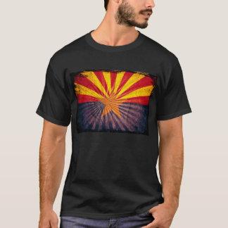 Cool Grunge Arizona Flag T-Shirt