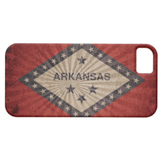 Cool Grunge Arkansas Flag iPhone SE/5/5s Case