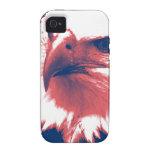 Cool Grunge Bald Eagle iPhone 4 Case