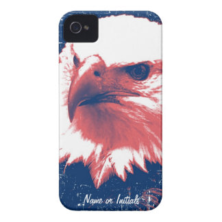 Cool Grunge Bald Eagle iPhone 4 Case-Mate Case
