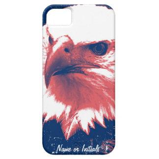 Cool Grunge Bald Eagle iPhone SE/5/5s Case
