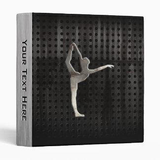 Cool Grunge Ballet 3 Ring Binder