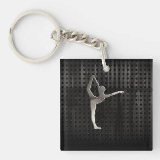 Cool Grunge Ballet Keychain