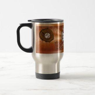 Cool Grunge Baseball Coach Gifts for Men Mugs