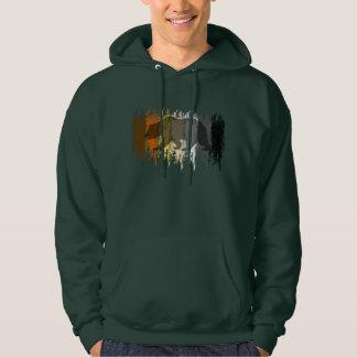 Cool Grunge Bear Shadow Gay Bear Pride Pullover