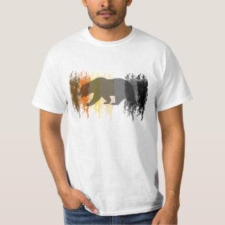 Cool Grunge Bear Shadow Gay Bear Pride Shirt