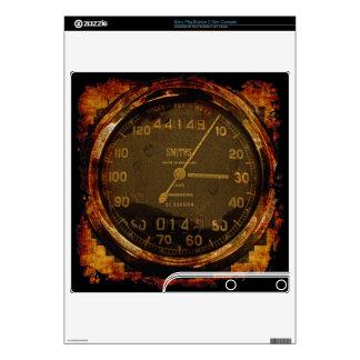 Cool Grunge Biker Speedometer Playstation 3 Skin PS3 Slim Decal