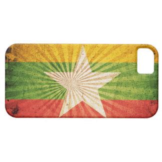 Cool Grunge Burma Flag iPhone 5 Cover