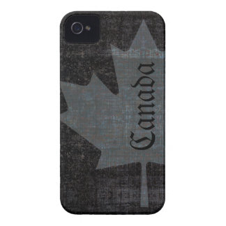 Cool grunge canadian flag maple leaf Case-Mate iPhone 4 cases