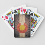 Cool Grunge Colorado Flag Deck Of Cards