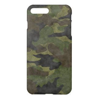 Cool Grunge Green Camo Camouflage Pattern Matte iPhone 8 Plus/7 Plus Case