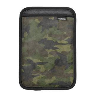 Cool Grunge Green Camo Military iPad Mini Sleeves