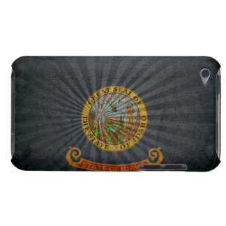 Cool Grunge Idaho Flag iPod Case-Mate Cases