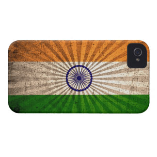 Cool Grunge Indian Flag Case-Mate iPhone 4 Case