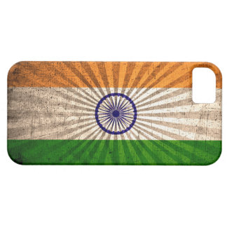 Cool Grunge Indian Flag iPhone SE/5/5s Case