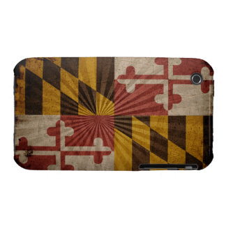 Cool Grunge Maryland Flag Case-Mate iPhone 3 Case