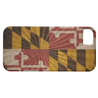 Cool Grunge Maryland Flag iPhone 5 Case