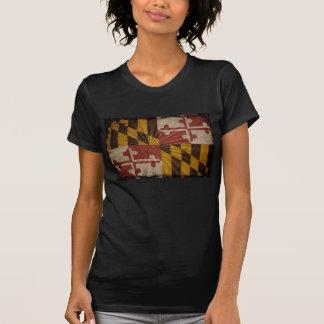 Cool Grunge Maryland Flag T-Shirt