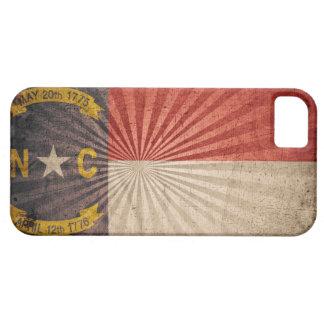 Cool Grunge North Carolina Flag iPhone SE/5/5s Case