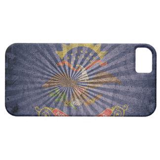 Cool Grunge North Dakota Flag iPhone SE/5/5s Case