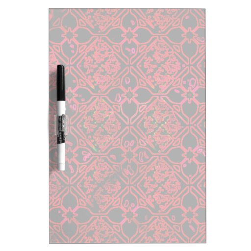 Cool Grunge Red Medieval Print Dry Erase Whiteboards