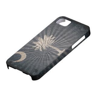 Cool Grunge South Carolina Flag iPhone 5 Case
