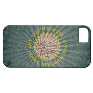 Cool Grunge South Dakota Flag iPhone SE/5/5s Case