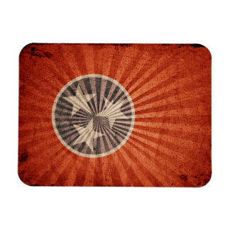 Cool Grunge Tennessee Flag Magnets
