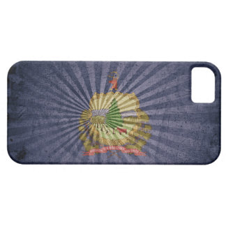 Cool Grunge Vermont Flag iPhone SE/5/5s Case