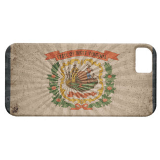 Cool Grunge West Virginia Flag iPhone SE/5/5s Case