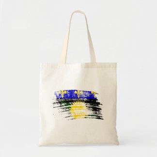 Cool  Guadeloupean flag design Tote Bags