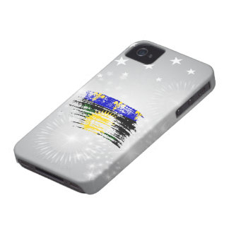 Cool  Guadeloupean flag design iPhone 4 Covers