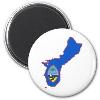Cool Guam 2 Inch Round Magnet