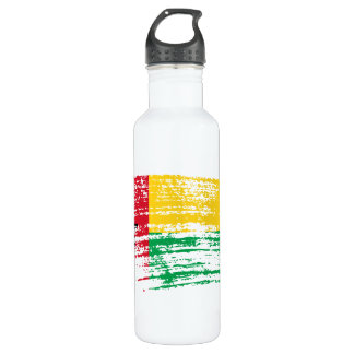 Cool Guinean flag design Water Bottle