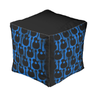 cool guitar cube pouf