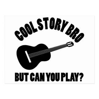 Cool Guitar Designs Postcard