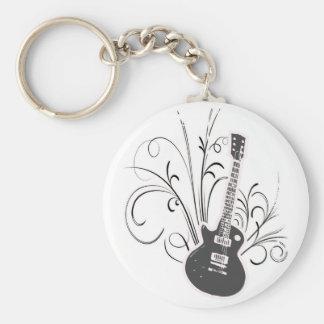 Cool guitar keychain