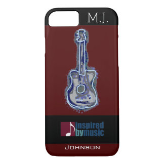 cool guitar music-inspired iPhone 8/7 case