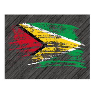 Cool Guyanese flag design Postcard